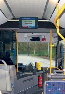 Die MG Industrieelektronik GmbH plant und realisiert Informationssysteme für den öffentlichen Personennahverkehr.