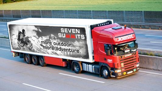 Szenenbild LKW-Werbung (Quelle: PLAKAT AM LKW GmbH)