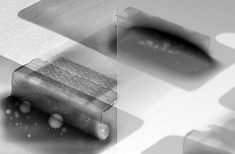 Full insight into a passive component – with and without use of YXLON real-time HDX Imaging Engine