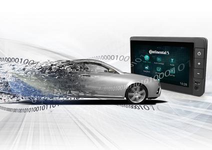 Hardware auf ein Minimum reduzieren: Mit der neuen Radio Plattform setzt Continental Standards für das Fahrzeug-Infotainment / Continental Reifen Deutschland GmbH