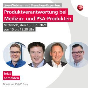 Webinar Medizinprodukte Produktsicherheit Compliance 2021