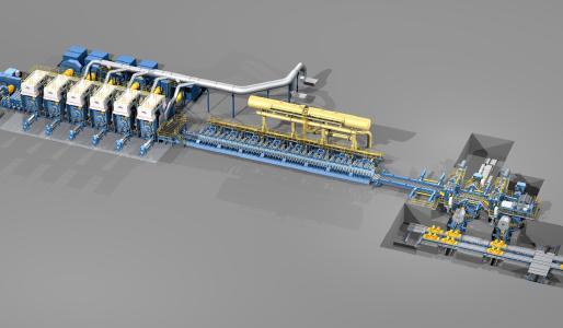 Panzhihua Steel & Vanadium ist mit der von SMS modernisierten 1.450-mm-Warmbreitbandstraße gut gerüstet, um zukünftig hochfestes und dünnes Warmband herzustellen zu können