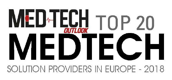 Top 20 MedTech Solution Providers in Europe 2018 logo
