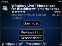 RIM Launches BlackBerry App World