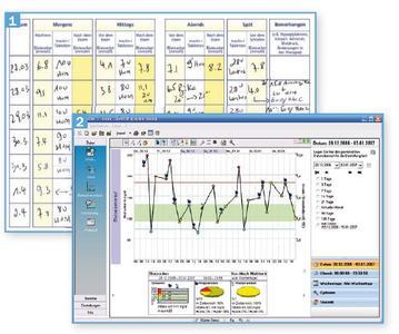 Diabetes-Tagebuch per PC: deutlich übersichtlicher als auf Papier