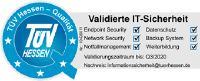 """Abb. 1: Das Qualitätssiegel """"Validierte IT-Sicherheit"""", verliehen vom TÜV Hessen"""