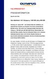 [PDF] Pressemitteilung: Das Abenteuer ruft: Olympus µ 1030 SW und µ 850 SW