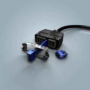 Das neue Han® Pneumatik-Modul ermöglicht die Druckluftübertragung in modularen Schnittstellen für tausendfaches Stecken.
