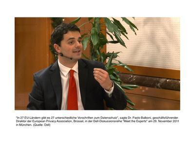 Dr. Paolo Balboni, geschäftsführender Direktor der European Privacy Association, Brüssel