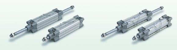 SMC ISO-Zylinder: noch leichter und mit doppelter Dämpfung