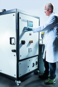 Der LAUDA Kryoheater Selecta KHS 3560 W findet seinen Einsatz beispielsweise in chemisch-pharmazeutischen Bereichen oder bei der Temperierung von Test- und Prüfständen in der Automobil- oder Solarindustrie