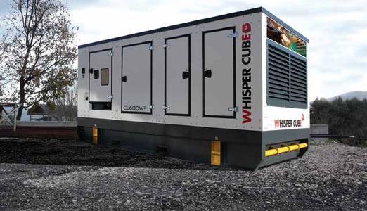 Whisper-Series – Whisper Cube  Im Leistungsbereich 8 – 800 kVA b...