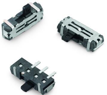 SMT-bestückbarer Schiebeschalter WS-SLSU / Bildquelle: Würth Elektronik
