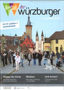"""Das Titelbild des """"Würzburger"""" 2013"""