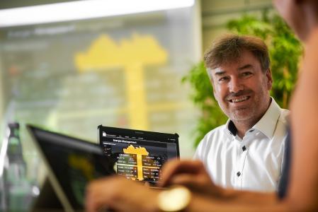 Siegfried Wagner, Geschäftsführer der in-integrierte informationssysteme GmbH