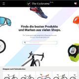 Radfahrer finden über 400.000 Produkte von Top-Marken auf einer Plattform.