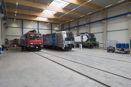Der Dienstleister KTG Railservice wartet und repariert Schienenfahrzeuge im Duisburger Hafen
