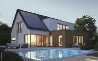 Bild: Solaranlage auf einem modernen Einfamilienhaus © iKratos