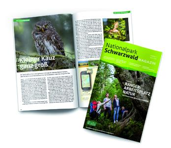 Zeitwerk gestaltet Nationalpark Schwarzwald Magazin