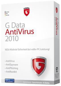PC Welt-Testsieger: G Data AntiVirus 2010