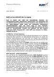 [PDF] Pressemittelung: BURY auf der AMICOM 2011 in Leipzig
