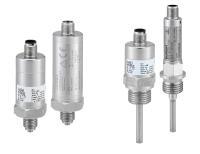 Neue Druck- und Temperatursensoren mit IO-Link- und CANopen-Schnittstelle. (Quelle: Bürkert Fluid Control Systems)