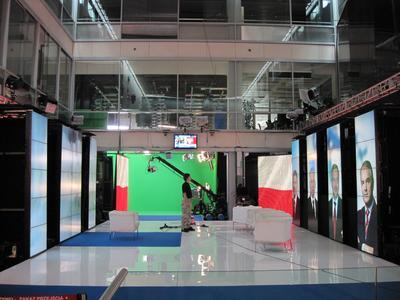 eyevis in Polish TV Studio