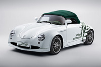 Schicker Roadster mit Biogas-Power