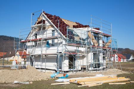 Deutschland im Bau- und Sanierungsfieber: Jährlich 420.000 neue Wohneinheiten  © Jeanette Dietl, Fotolia