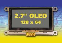 """2,7"""" OLED mit 128 x 64 Auflösung"""