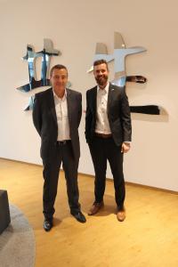 KarolySchmidt, Canon Deutschland GmbH (links im Bild) und Daniel Aßmann, bluechip Computer AG
