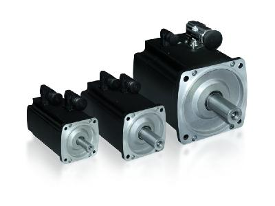 With their excellent control properties, the servo motors of the new DSH1 series (on the right) achieve the high quality and precision that are required e.g. for specific welding seams