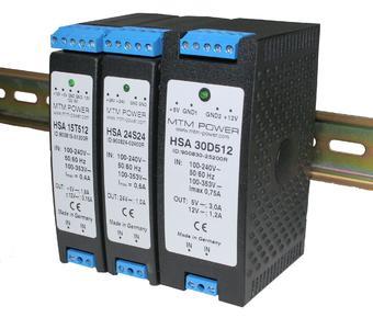 15, 24 und 30 W Power für die DIN-Schiene