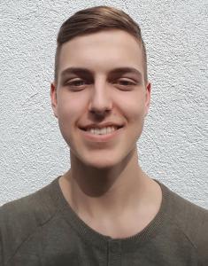 Der erfolgreiche Nachwuchsautor: Justus Hammermann, Schüler an der Landgraf-Ludwigs-Schule Gießen