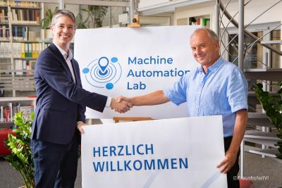 """MACHINE AUTOMATION LAB"" - STW AND FRAUNHOFER IVI SET SEAL ON COOPERATION"