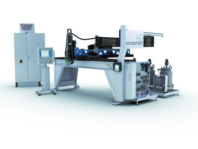 Mixing and Dosing machine DM 403 from Sonderhoff Engineering