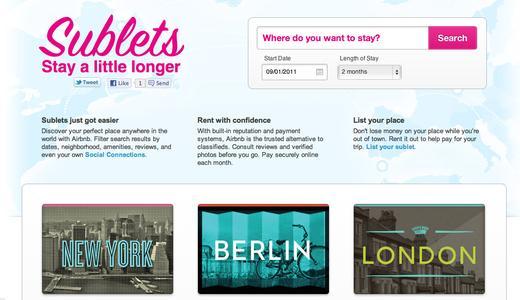Airbnb Tritt In Den Markt Für Langzeitvermietungen Ein Airbnb