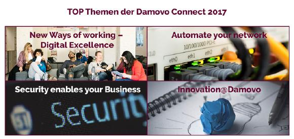 TOP Themen Damovo Connect 2017