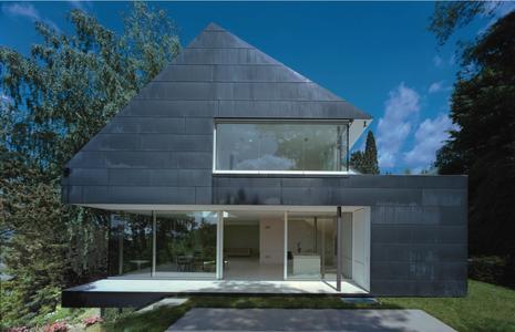 Das Architektenhaus in Seeheim wurde beim Copper in Architecture Award 2011 ausgezeichnet. Bild: A. Kraneburg