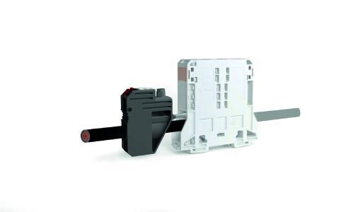 Die Kombination aus 2-Leiter-Durchgangsklemme und Strom- und Spannungsabgriff