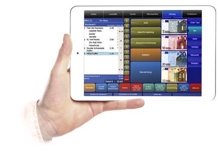MF iPadmini Front Hand2000 QuickServicePayment 07012013 PhB SGS db, Copyright by MICROS-FIDELIO GmbH