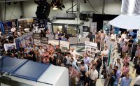 Viele Besucher kamen zu Hufschmied Zerspanungssysteme, um sich über das Unternehmen und Neuigkeiten aus der Hightechzerspanung zu informieren / Bildquelle: Hufschmied Zerspanungssysteme