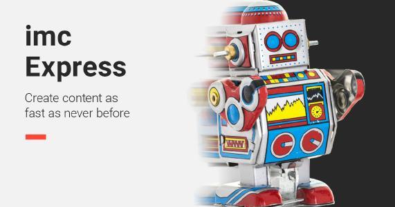 imc Express, authoring tool