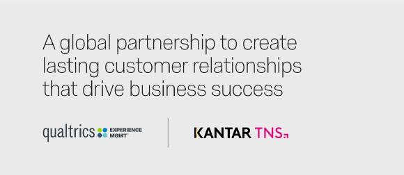 Kantar TNS und Qualtrics vereinen ihre Kräfte für eine weltweit starke Customer Experience