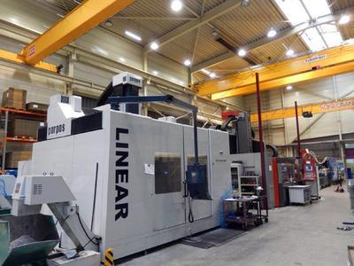 Die Wolpert Gruppe startet 2015 eine große Investitionsoffensive in modernste Fertigungstechnologie wie diese Parpas Portalfräsmaschine.