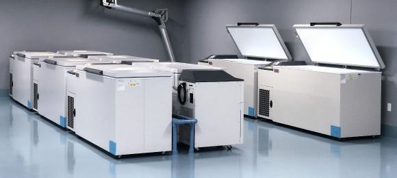 Zusätzliche Fläche für Gefriertruhen am Vetter US-Standort Skokie / Quelle: Vetter Pharma International GmbH