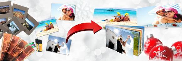Eine schöne Geschenkidee für den kleinen Geldbeutet ist ein Fotobuch für die Jacken- bzw. Handtasche. Einfach 20 oder 50 Fotos einreichen und digitalspezialist produziert ein Smart-Fotobuch im Format 10 x 15 cm oder 13 x 18 cm mit Titelbild.