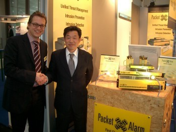 CeBIT 2006 - PacketAlarm gewinnt neuen Partner in Japan