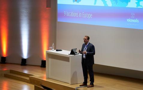 Christoph Wichmann auf der Partner und Technologie Konferenz