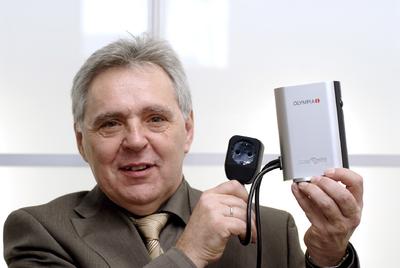 Heinz Prygoda mit dem PowerSafer